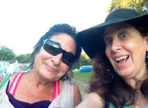Susan and me at Brimfield.JPG