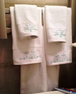 Towels with French embroidery.JPG