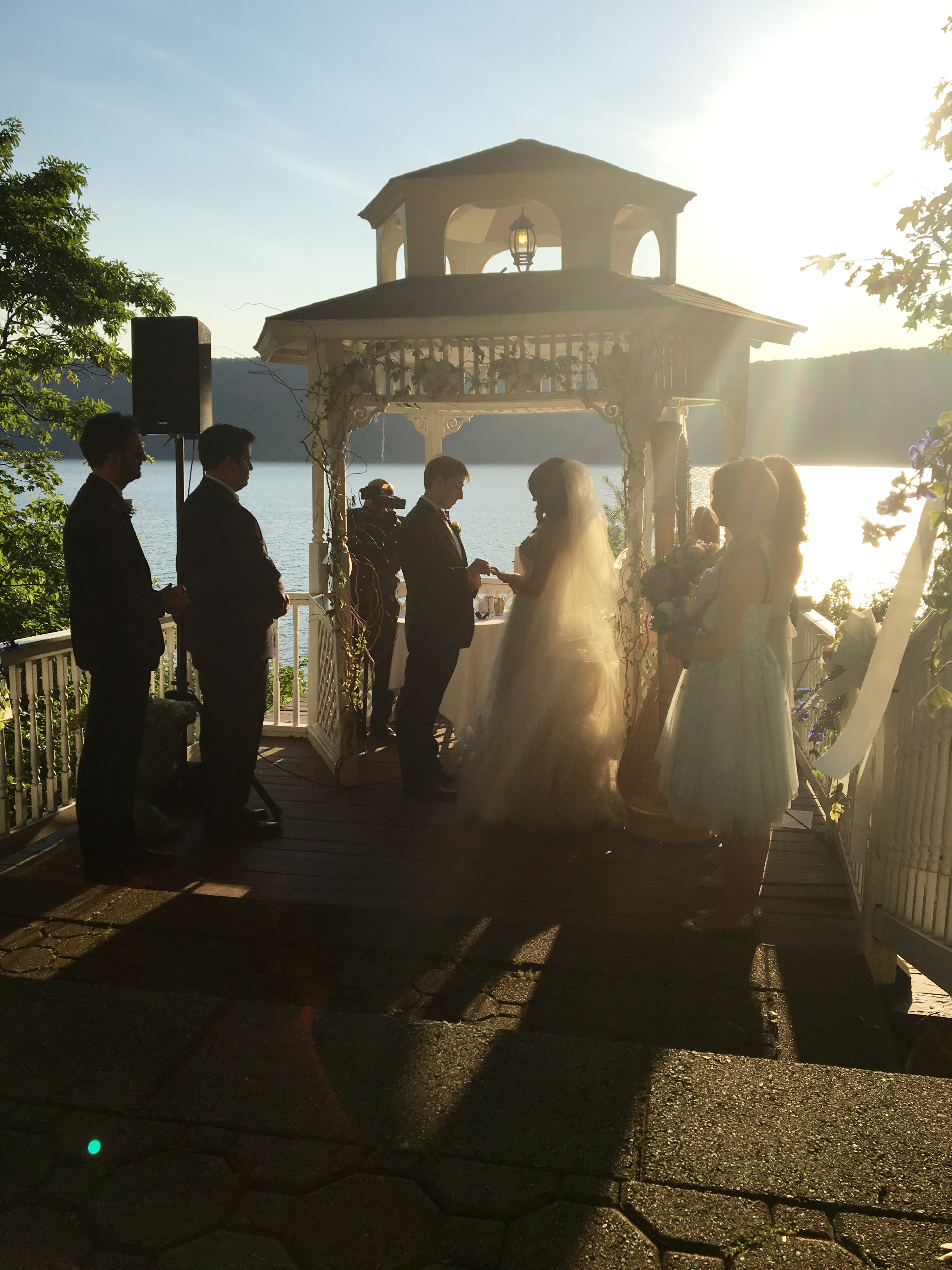 The wedding ceremony under the chuppah.jpg