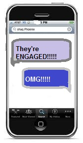 Then came the text: Theyre engaged!.jpg